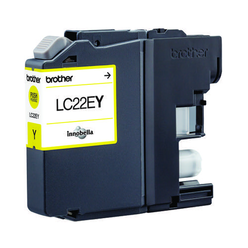 Brother Inkjet Cartridge Yellow LC22EY