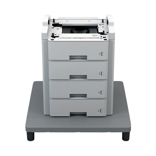 Brother Optional Grey 4x520 Sheet Paper Tray Unit With Stabiliser base TT4000