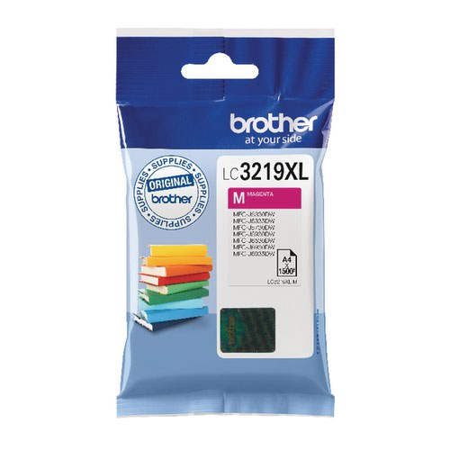 Brother High Yield Magenta Inkjet Cartridge LC3219XLM