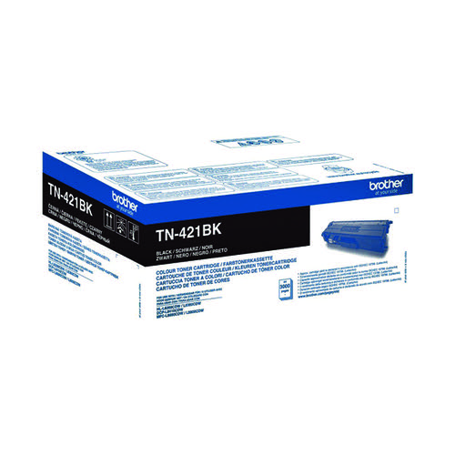 Brother TN-421 Black Toner Cartridge TN421BK
