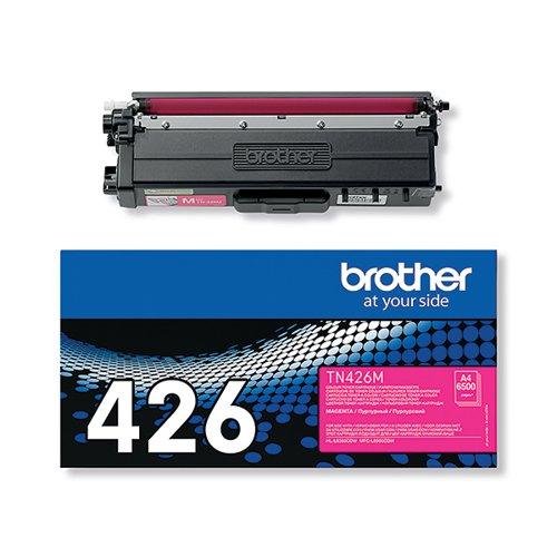 Brother TN426M Extra High Yield Magenta Toner Cartridge TN426M