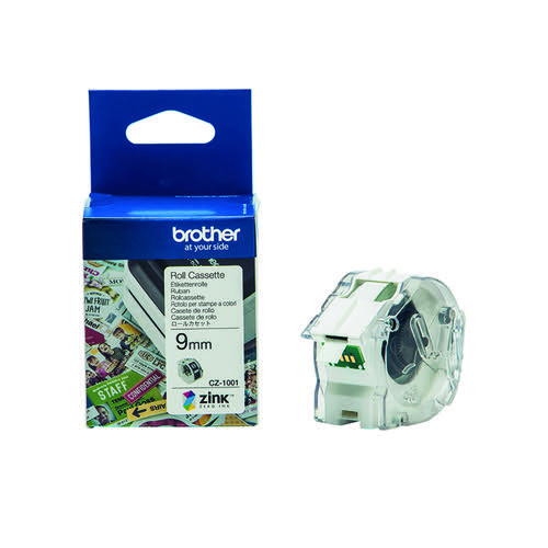 Brother Label Roll 9mm x 5m CZ1001