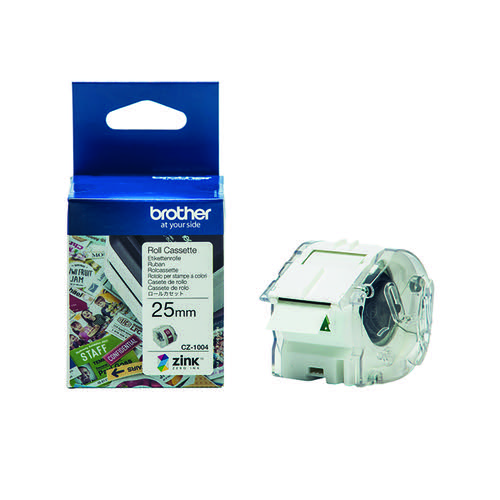 Brother Label Roll 25mm x 5m CZ1004