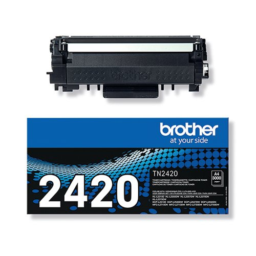 Brother TN-2420 Black Toner Cartridge TN2420