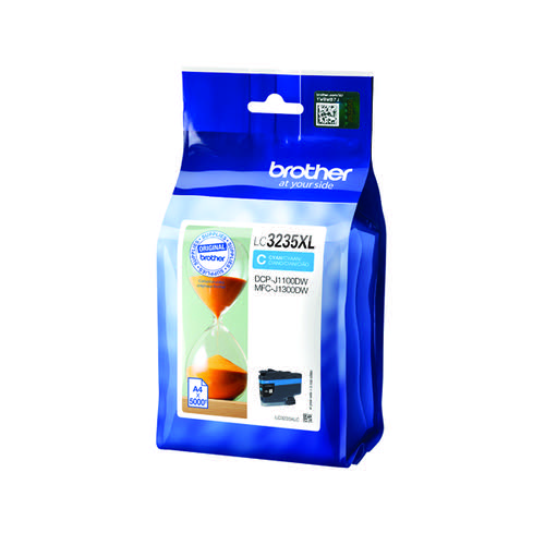 Brother Cyan Ink Cartridge LC3235XLC by Brother, BA78725