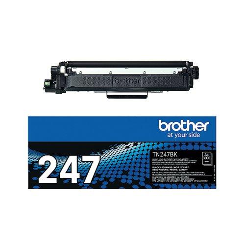 Brother TN-247BK High Yield Black Toner Cartridge TN247BK