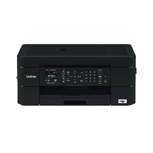 Brother MFC-J491DW A4 Wireless 4-in-1 Colour Inkjet Printer MFCJ491DWZU1