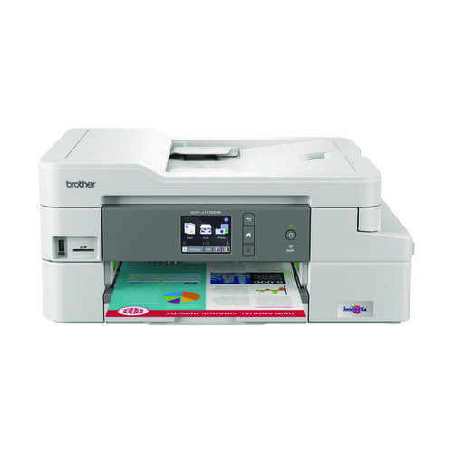 Brother DCP-J1100DW A4 Wireless 3-in-1 Colour Inkjet Printer DCPJ1100DWZU1