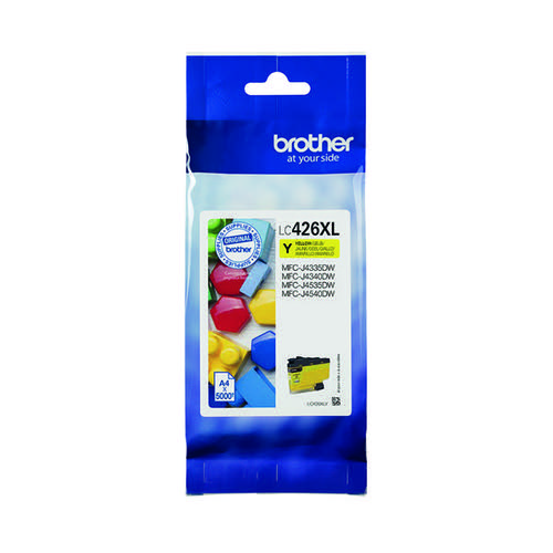 Brother High Yield Yellow Ink Cartridge LC426XLY