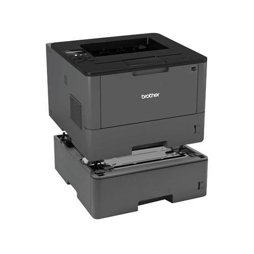 Brother Laser Printer HL-L5100DN with a Brother LT6500 520 Paper Tray BA810620
