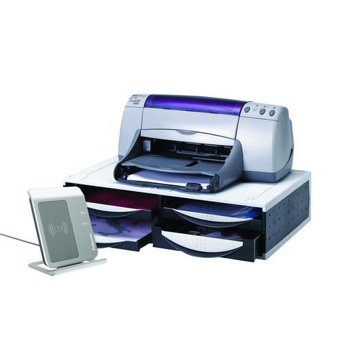 Fellowes Machine Organiser Platinum/Grey 24004