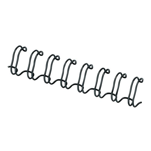 Fellowes Wire Binding Element 12.7mm Black (Pack of 100) 53273