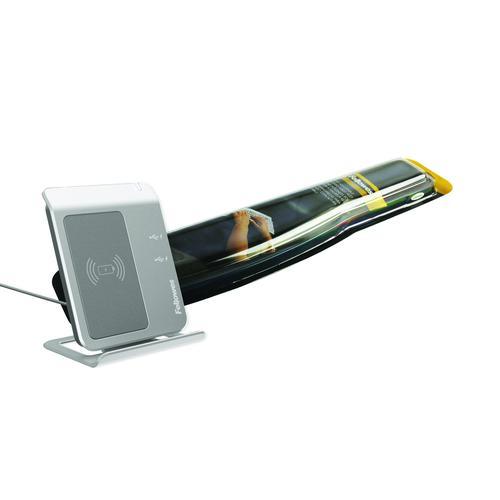 Fellowes Premium Gel Wrist Rest Black 9374201