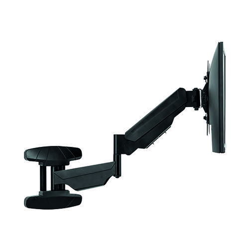 Fellowes Single Arm Wall Mount Monitor Arm 8043501 - BB72798