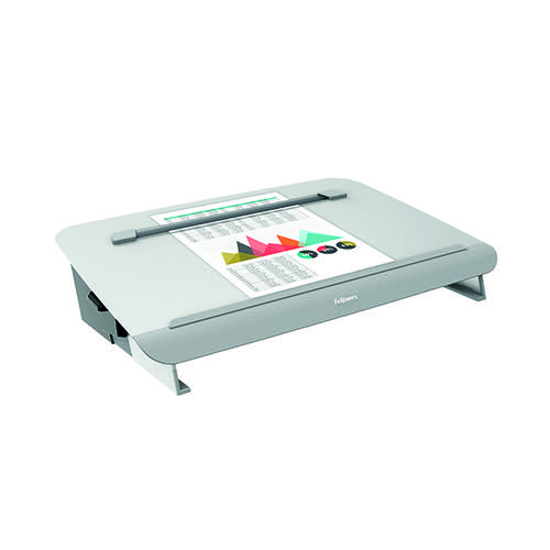 Fellowes Hana Writing Slope Adjustable Position Grey 8065801