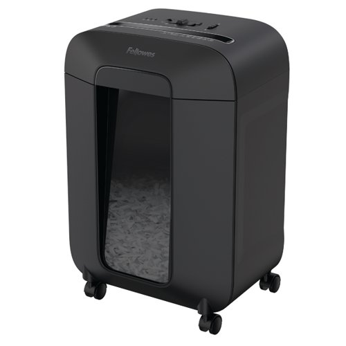 Fellowes Powershred LX85 Cross-Cut Shredder Black 4400901