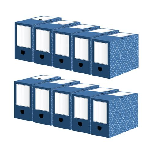 Bankers Box 150mm Transfer File (Pack of 5) Buy 1 Get 1 Free 4483901