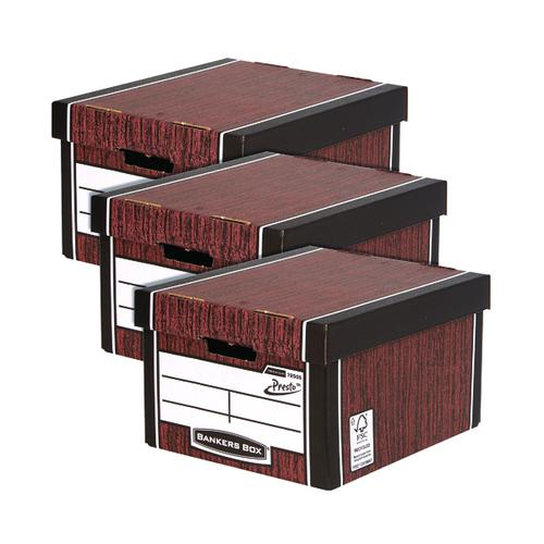 Bankers Box Classic Box W/Grain 3 For 2 BB810614