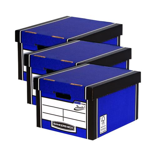 Bankers Box Classic Box Blue 3 For 2 BB810615