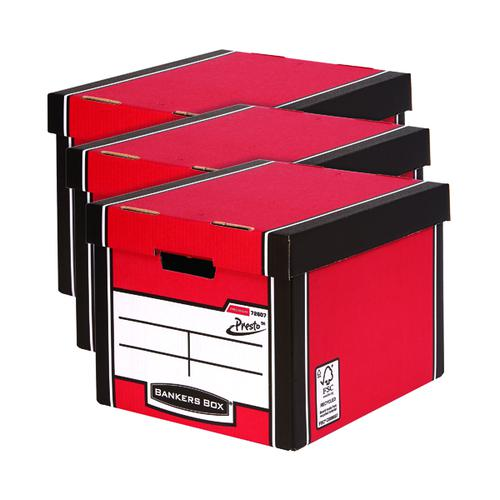 Bankers Box Premium Tall Box Red 3 For 2 BB810618