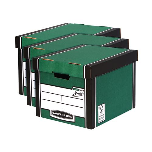 Bankers Box Premium Tall Box Green 3 For 2 BB810619