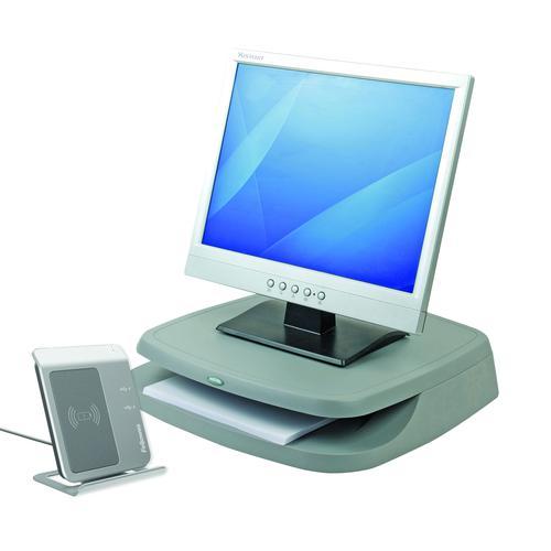 Fellowes Basic Monitor Riser Graphite 91456
