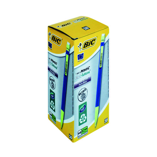 Bic Matic Ecolutions Mechanical Pencil (Pack of 50) 887
