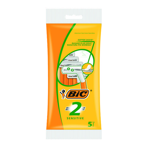 Bic 2 Sensitive Twin Blade Shavers (Pack of 100) 838528