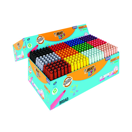 Bic Kids Visacolour Colouring Pens XL Assorted (Pack of 288) 975144