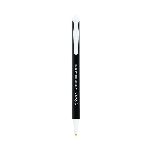Bic Clic Stic Antimicrobial Ballpoint Pen Black (Pack of 20) 500461