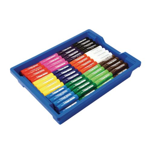 Little Brian Paint Sticks Assorted in Gratnells Tray LBPS10CA144G