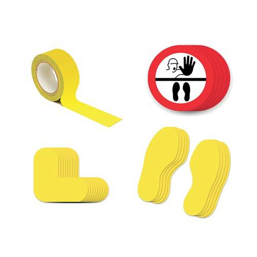 Social Distance Marker Kit Symbol Only 2B SDKIT2B
