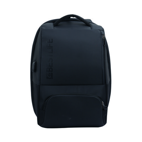 BestLife 15.6 Inch Neoton Laptop Backpack with USB Connector BB-3401BK-1-15.6 by Bestlife Ltd, BF41721
