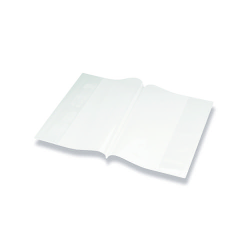 Bright Ideas PVC Book Cover Clear A4 250 Micron (Pack of 10) BI9000