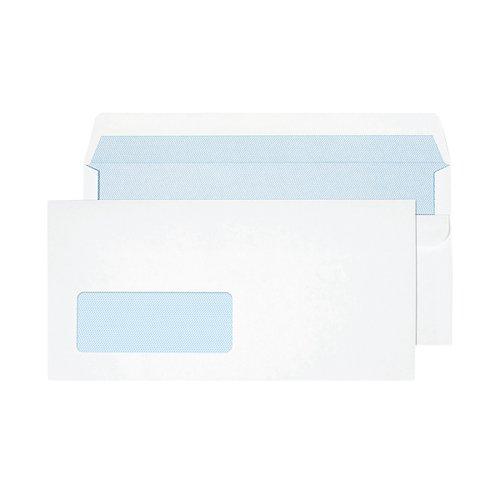 Blake PurelyEveryday Dl 90gsm Self Seal White Window Envelopes (Pack of 50) 13884/50PR