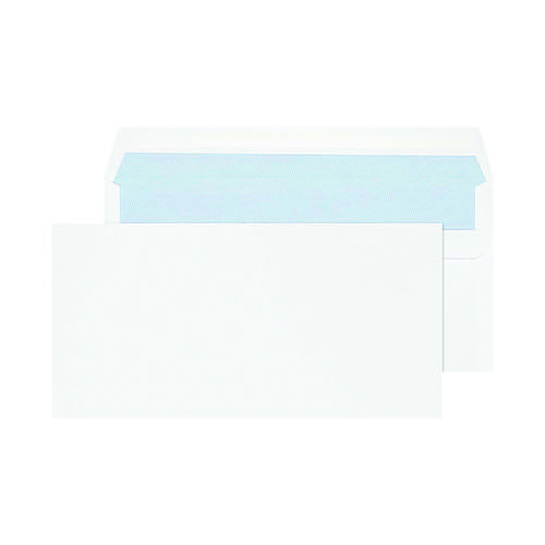 Blake PurelyEveryday Dl 80gsm Self Seal White Envelopes (Pack of 50) 12882/50PR