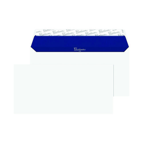 Blake PremiumPure Dl Recycled Peel & Seal White Envelopes (Pack of 50) RP81255