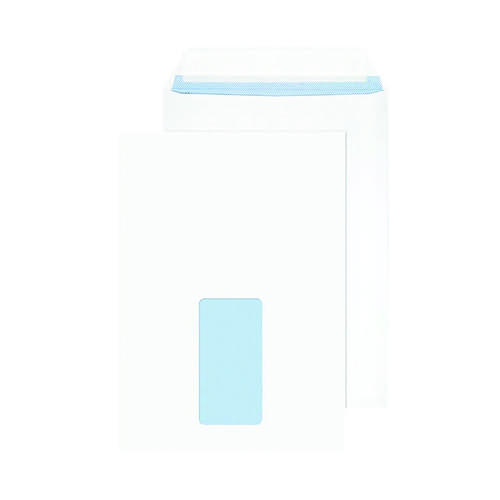 Blake PurelyEveryday C5 100gsm Peel & Seal White Window Envelopes (Pack of 100) 23084/100PR