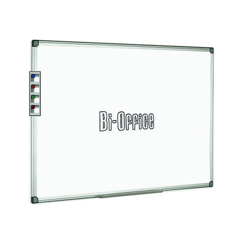 Bi-Office Aluminium Trim Drywipe Board 900x600mm MB0312170