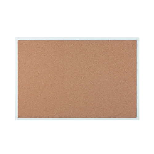 Bi-Office Antimicrobial Cork Board 900x600mm BCA031226