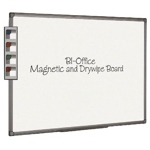 Bi-Office Aluminium Finish Magnetic Board 2400x1200mm MB8606186
