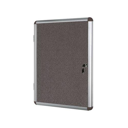 Bi-Office Internal Display Case 900x1200mm Grey VT640103150