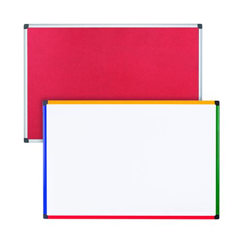 Felt Notice Board 1200x900 R Foc Clear Magnetic Board BQ831370