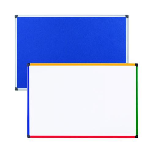 Felt Notice Board 1200x900 B Foc Clear Magnetic Board BQ831372