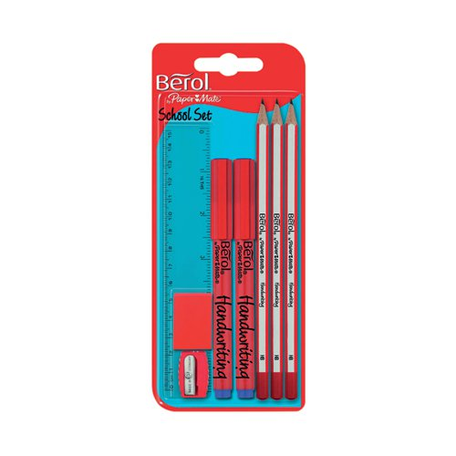 Berol School Set (Pack of 12) S0924570