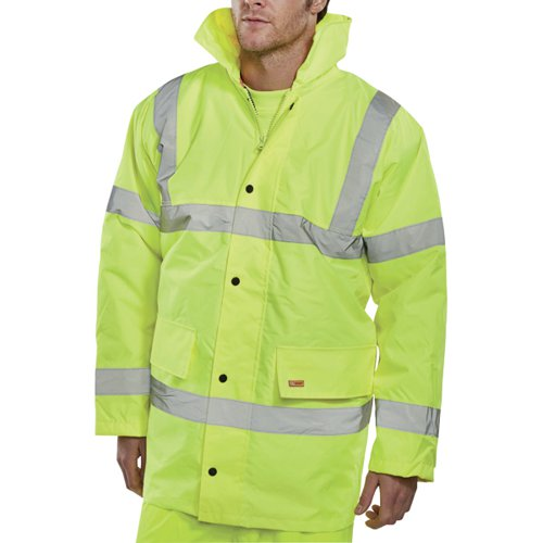 Constructor Jacket Saturn Yellow Large (Class 3 visibility and class 3 water penetration) CTJENGSYL