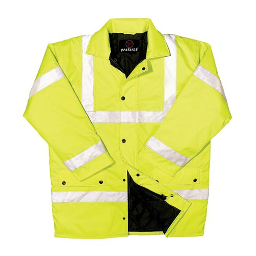 Constructor Jacket Saturn Yellow XXL (Class 3 visibility and class 3 water penetration) CTJENGSYXXL