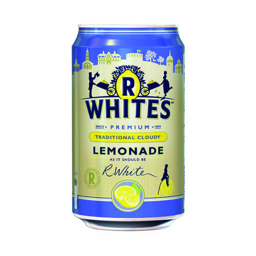 Britvic R Whites Cloudy Lemonade 330ml (Pack of 24) 0402122