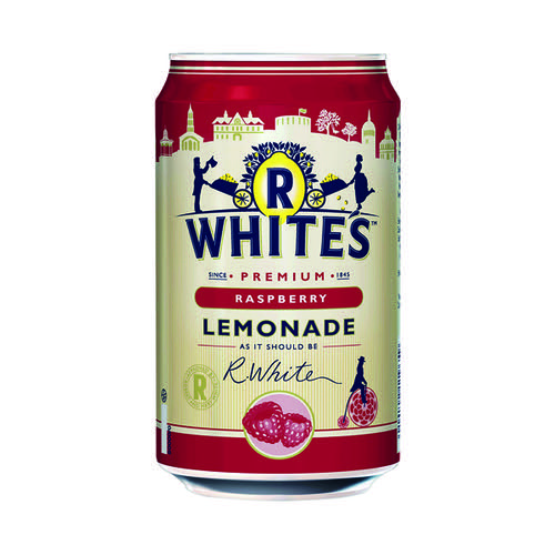 Britvic R Whites Raspberry Lemonade 330ml (Pack of 24) 0402119