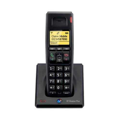 BT Diverse 7100 R DECT Cordless Phone Additional Handset Black 060748